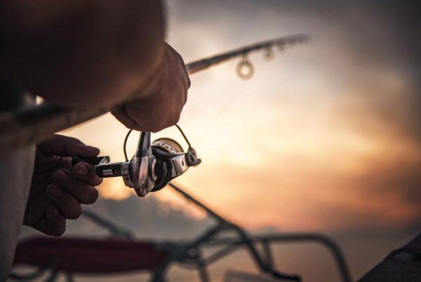 horgász naplemente horgászfelszerelés kölcsön