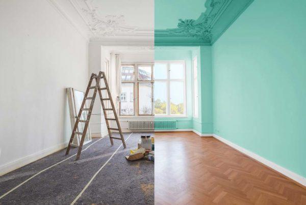 lakásfelújítás festés előtte utána kölcsön