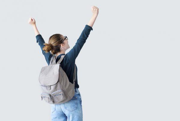 diák örül ballagás