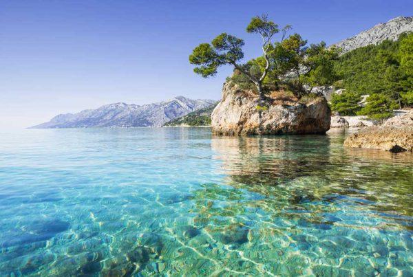 Makarska tengerpart utazás