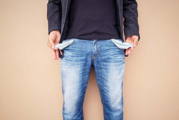 Üres zsebek nincs pénze