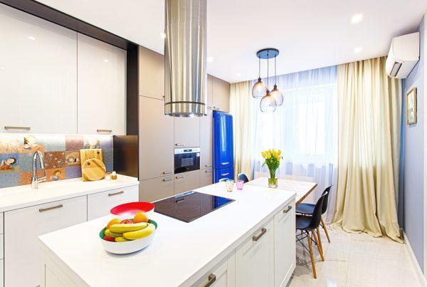 modern páraelszívó konyha